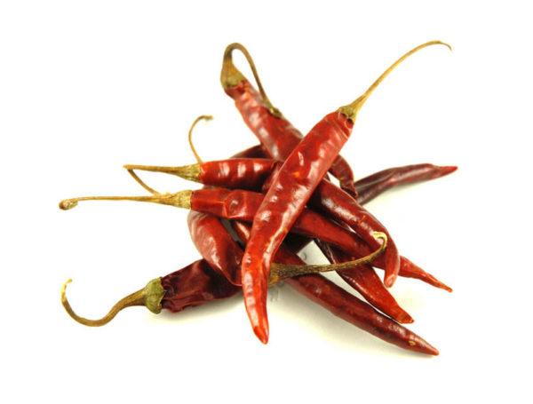 Hot Chilli Pepper De Arbol