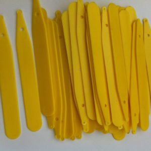 Plastic Yellow Plant Seed Labels 4 Inch