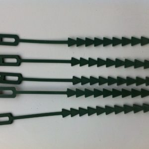 Re-Useable Adjustable Plastic Plant Ties 5 Inch