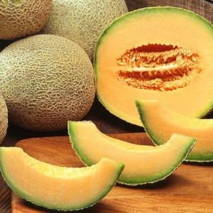 Melon Cantaloupe Hearts of Gold Organic