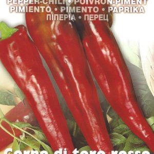 PEPPER SWEET CORNO DI TORO ROSSO