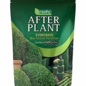 EVER GREEN FERTILIZER EMPATHY AFTER PLANT WITH ROOTGROW MYCORRHIZAL FUNGI