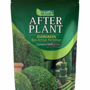 EVER GREEN FERTILIZER EMPATHY AFTER PLANT WITH ROOTGROW MYCORRHIZAL FUNGI