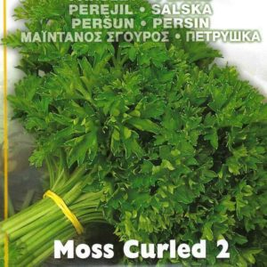PARSLEY MOSS CURLED PICTORIAL PACKET