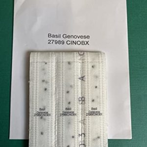 Basil GENOVESE 6M (3X2M) Seed Tapes ~ Approx 840 Seeds
